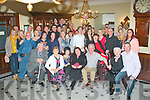 5-OH CELEBRATIONS: Mary Enright, Spa Road and Cahersiveen (seated centre), enjoying her surprise 50th birthday party with family and friends in the Imperial Hotel on Saturday,