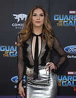 "HOLLYWOOD, CA - April 19: Allison Holker, At Premiere Of Disney And Marvel's ""Guardians Of The Galaxy Vol. 2"" At The Dolby Theatre  In California on April 19, 2017. Credit: FS/MediaPunch"