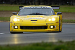 The Corvette Racing C6-R, driven by Oliver Gavin and Olivier Beretta at the American Le Mans at the Mid-Ohio, 2006<br /> <br /> Please contact me for the full-size image<br /> <br /> For non-editorial usage, releases are the responsibility of the licensee.
