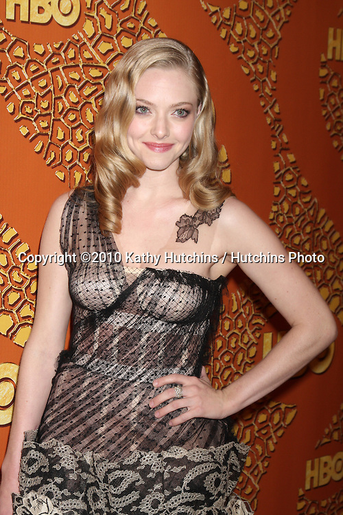 Amanda Seyfried.arriving at the 67th Annual Golden Globe Awards Official HBO After Party.Beverly Hilton Hotel.Beverly Hills, CA.January 17, 2010.©2010 Kathy Hutchins / Hutchins Photo....