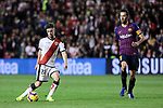 Rayo Vallecano's Jose Angel Pozo and FC Barcelona's Sergio Busquets during La Liga match between Rayo Vallecano and FC Barcelona at Vallecas Stadium in Madrid, Spain. November 03, 2018. (ALTERPHOTOS/A. Perez Meca)
