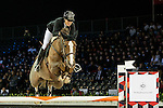 Pilar Lucrecia Cordon of Spain riding Coriana van Klapscheut competes during the EEM Trophy, part of the Longines Masters of Hong Kong on 10 February 2017 at the Asia World Expo in Hong Kong, China. Photo by Marcio Rodrigo Machado / Power Sport Images