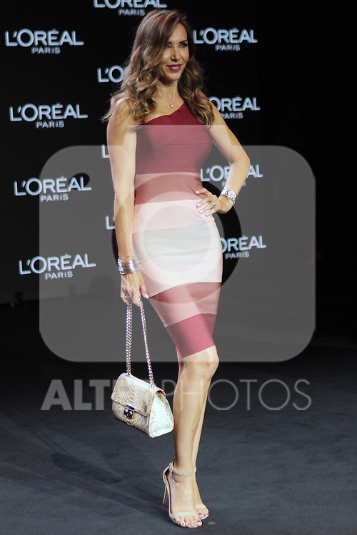 Paloma Lago at the L'Oreal Paris anniversary fashion show during the Mercedes Benz Fashion Week Spring/Summer 2020 at Ifema on July 10, 2019 in Madrid, Spain.(ALTERPHOTOS/ItahisaHernadez)
