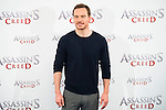 "German actor Michael Fassbender during the presentation of the film ""Assassin's Creed"" in Madrid, Spain. December 07, 2016. (ALTERPHOTOS/BorjaB.Hojas)"