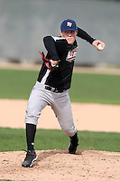 January 16, 2010:  Zack Reser (Hillsboro, OR) of the Baseball Factory Northwest Team during the 2010 Under Armour Pre-Season All-America Tournament at Kino Sports Complex in Tucson, AZ.  Photo By Mike Janes/Four Seam Images