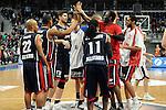 Mannheim 17.01.2009, Freude bei dem Team Nord &uuml;ber den Sieg im Spiel S&uuml;d - Nord beim Basketball All Star Day 2009<br /> <br /> Foto &copy; Rhein-Neckar-Picture *** Foto ist honorarpflichtig! *** Auf Anfrage in h&ouml;herer Qualit&auml;t/Aufl&ouml;sung. Belegexemplar erbeten.