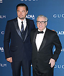 LOS ANGELES, CA - NOVEMBER 02: Leonardo DiCaprio , Martin Scorsese arrives at  LACMA 2013 Art + Film Gala held at LACMA  in Los Angeles, California on November 02,2012                                                                               © 2013 Hollywood Press Agency
