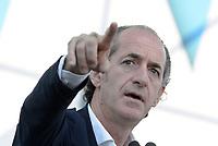 Roma, 19 Ottobre 2019<br /> Luca Zaia.<br /> Orgoglio italiano, manifestazione della Lega e del centro destra a San Giovanni, contri il governo