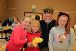 Eine Markey, Bowe Rijnders, PJ McDray Emilia McKeever at the school coffee morning and cake sale being run by the PTA of St Peters School, Bolton Street .<br /> Picture: Fran Caffrey www.newsfile.ie