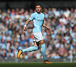 Kyle Walker of Manchester City during the premier league match at the Etihad Stadium, Manchester. Picture date 9th September 2017. Picture credit should read: David Klein/Sportimage