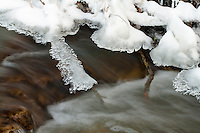 Ice Formation over Stream