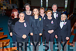 Members of the Recovery Haven Choir assisting the Kerry Choral Union on Sunday evening at their their annual Easter concert in aid of Recovery Haven Kerry in St Brendans Church.  <br /> L to r: Sue Hinchliffe, Ann Thompson, Christine Klein, Charlotte Calleja O'Halloran, Ann Ryle, Patricia Hartnett, Vincent McMahon and Haulie O'Connor.