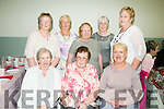 Enjoying the Ardfert/Kilmoyley Senior Citizens Tea Dance in Ardfert Community Centre on Sunday were Front l-r  Mary Jeffers, Nora Allman and Patricia Jeffers. Back l-r  Mary Sinnott, Peggy Sullivan, Christina O'Rourke, Ina Nagal  and Mary Sullivan.