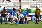 Nicolo Casilio, Italy 15 v 44 Australia Stade D'Honneur du Parc des Sports et de L'Amitie, Narbonne France. World Rugby U20 Championship 2018. Photo Martin Seras Lima