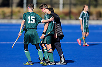 St Kentigern College v Pakuranga College. Rankin Cup and India Shield 2019 Secondary School Hockey Tournament, Ngā Puna Wai Sports Hub, Christchurch, Monday 02 September 2019. Photo: Martin Hunter/Hockey NZ