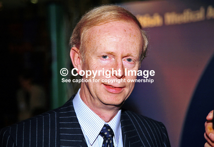 Sir Reg Empey, Ulster Unionist, MLA, N Ireland Assembly, N Ireland, UK, Ref: 199910314..Copyright Image from Victor Patterson, 54 Dorchester Park, Belfast, UK, BT9 6RJ..Tel: +44 28 9066 1296.Mob: +44 7802 353836.Voicemail +44 20 8816 7153.Skype: victorpattersonbelfast.Email: victorpatterson@mac.com.Email: victorpatterson@ireland.com (back-up)..IMPORTANT: If you wish to use this image or any other of my images please go to www.victorpatterson.com and click on the Terms & Conditions. Then contact me by email or phone with the reference number(s) of the image(s) concerned.