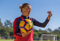 Faro, Portugal - January 12, 2019:  The USWNT trains during their January Camp in Portugal.