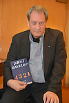 MIAMI, FL - FEBRUARY 21: Author Paul Auster poses for portrait before A Evening with Paul Auster & friends! MUSIC, MAGIC & THE MUSE: for his latest novel, '4 3 2 1' features performance by singer Sophie Auster and magicians David Blaine at Adrienne Arsht Center - Knight Concert Hall on February 21, 2017 in Miami, Florida. ( Photo by Johnny Louis / jlnphotography.com )