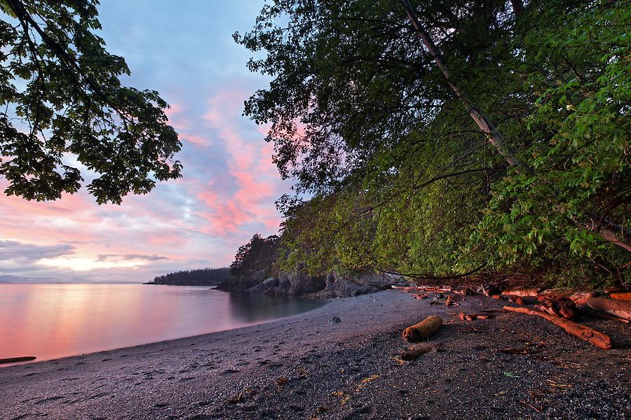 San Juan County Park, San Juan Island, Washington, USA
