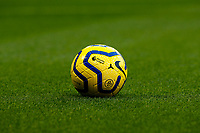 30th November 2019; Stamford Bridge, London, England; English Premier League Football, Chelsea versus West Ham United; Nike Premier League 2019/20 Strike Football from the pitch  - Strictly Editorial Use Only. No use with unauthorized audio, video, data, fixture lists, club/league logos or 'live' services. Online in-match use limited to 120 images, no video emulation. No use in betting, games or single club/league/player publications