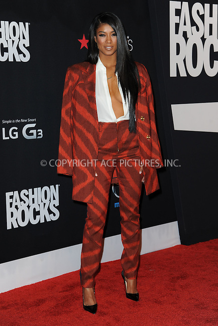 WWW.ACEPIXS.COM<br /> September 9, 2014 New York City<br /> <br /> Mila J attending Fashion Rocks 2014 at the Barclays Center September 9, 2014 in New York City.<br /> <br /> Please byline: Kristin Callahan/AcePictures<br /> <br /> ACEPIXS.COM<br /> <br /> Tel: (212) 243 8787 or (646) 769 0430<br /> e-mail: info@acepixs.com<br /> web: http://www.acepixs.com