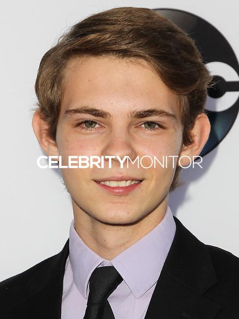 HOLLYWOOD, LOS ANGELES, CA, USA - SEPTEMBER 21: Robbie Kay arrives at the Los Angeles Screening Of ABC's 'Once Upon A Time' Season 4 held at the El Capitan Theatre on September 21, 2014 in Hollywood, Los Angeles, California, United States. (Photo by Celebrity Monitor)