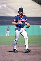 Boston Red Sox third baseman Wade Boggs before a game against the Baltimore Orioles during the 1991 season at Memorial Stadium in Baltimore, Maryland.  (MJA/Four Seam Images)