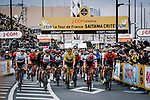 Action from the 2018 Saitama Criterium, Japan. 4th November 2018.<br /> Picture: ASO/Pauline Ballet | Cyclefile<br /> <br /> <br /> All photos usage must carry mandatory copyright credit (&copy; Cyclefile | ASO/Pauline Ballet)