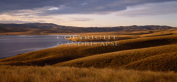 Lake Onslow. Otago Region. New Zealand.