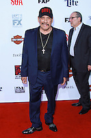 HOLLYWOOD, LOS ANGELES, CA, USA - SEPTEMBER 06: Danny Trejo arrives at the Los Angeles Premiere Of FX's 'Sons Of Anarchy' Season 7 held at the TCL Chinese Theatre on September 6, 2014 in Hollywood, Los Angeles, California, United States. (Photo by David Acosta/Celebrity Monitor)