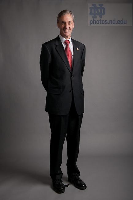 Executive Vice President John Affleck-Graves..Photo by Matt Cashore/University of Notre Dame