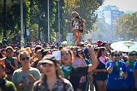 Santiago, Chile, 09/03/2020 - Protesto-Mulheres - Milhares de mulheres voltam a marchar em protesto aos seus direitos no centro de Santiago no Chile nesta segunda-feira (09). (Foto: Ellan Lustosa/Codigo 19/Codigo 19)