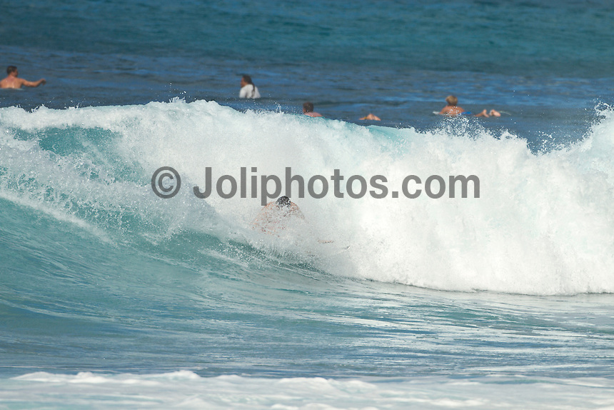 Haleiwa Hawaii, (Tuesday November 23, 2010) Jordy Smith (ZAF). .Three to five foot west nor west swell with light variable winds were the conditions for today's sessions at Off The Wall and Backdoor..Photo: joliphotos.com