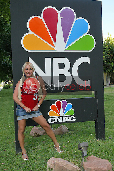 Mary Carey outside NBC studios in Burbank<br />