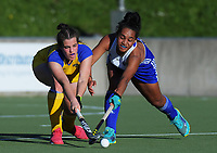 Action from the women's National Hockey League match between Auckland and Southern at National Hockey Stadium in Wellington, New Zealand on Thursday, 20 September 2018. Photo: Dave Lintott / lintottphoto.co.nz