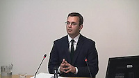 Andy Coulson at Leveson