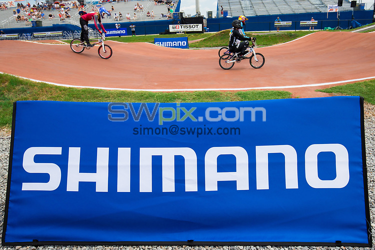 Picture by Alex Whitehead/SWpix.com - 29/07/2017 - Cycling - 2017 UCI BMX World Championships - Novant Health BMX Supercross Track, Rock Hill, USA - Brief. Shimano