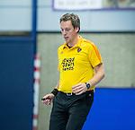 SCHIEDAM - NK reserveteams zaalhockey. Finale Tilburg D2-HDM D2 (1-3) . scheidsrechter Pascal Engelbertink.  COPYRIGHT KOEN SUYK