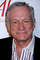"27 September 2017 - Hugh Marston Hefner aka ""Hef"" was an American magazine publisher, editor, businessman, and international playboy best known as the editor-in-chief and publisher of Playboy magazine, which he founded in 1953. Hefner was the founder and chief creative officer of Playboy Enterprises, the publishing group that operates the magazine. Hefner was also a political activist and philanthropist. File Photo: 28 August 2008 - Hollywood, California - Hugh Hefner. Celebrity Catwalk for Charity Benefit for National Animal Rescue at The Highlands Nightclub. Photo Credit: Byron Purvis/AdMedia (Newscom TagID: admphotos321539.jpg) [Photo via Newscom]"