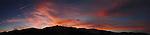 The Sierra sunset on Jan. 14, 2011, seen from Gardnerville, Nev..Photo by Cathleen Allison