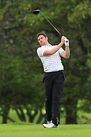 TJ Ford (Co.Sligo) on the 19th tee during the Final of the AIG Barton Shield in the AIG Cups & Shields Connacht Finals 2019 in Westport Golf Club, Westport, Co. Mayo on Saturday 10th August 2019.<br /> <br /> Picture:  Thos Caffrey / www.golffile.ie<br /> <br /> All photos usage must carry mandatory copyright credit (© Golffile | Thos Caffrey)