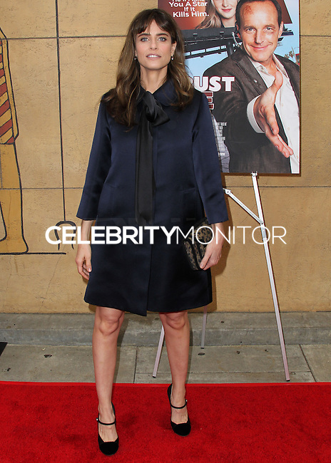 """HOLLYWOOD, LOS ANGELES, CA, USA - MAY 22: Amanda Peet arrives at the Los Angeles Premiere Of """"Trust Me"""" held at the Egyptian Theatre on May 22, 2014 in Hollywood, Los Angeles, California, United States. (Photo by Xavier Collin/Celebrity Monitor)"""