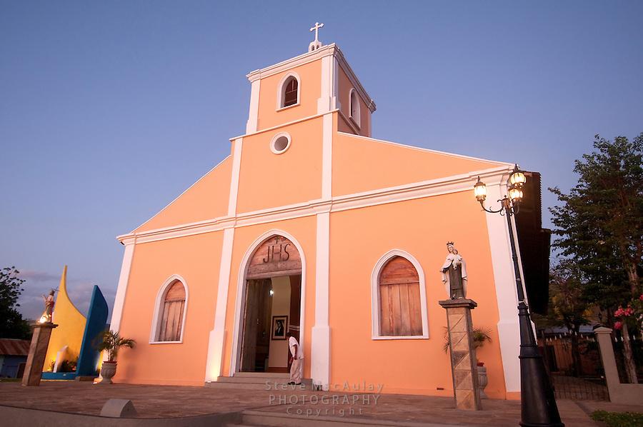 Catholic church in San Juan Del Sur, Nicaragua