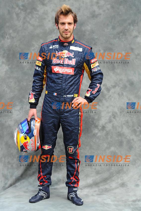 TORO ROSSO FRENCH DRIVER - JEAN ERIC VERGNE..Melbourne 15/3/2012 Gp Australia.Formula 1 Pilota.Foto Insidefoto / Bernard Asset / Panoramic.ITALY ONLY