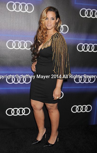 LOS ANGELES, CA- AUGUST 21: Actress Dascha Polanco arrives at the Audi Emmy Week Celebration at Cecconi's Restaurant on August 21, 2014 in Los Angeles, California.