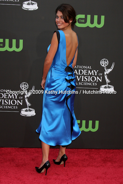 Lindsay Hartley  arriving at the Daytime Emmys at the Orpheum Theater in  Los Angeles, CA on August 30, 2009.©2009 Kathy Hutchins / Hutchins Photo.