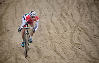 Superprestige Zonhoven 2013<br /> <br /> Lars van der Haar (NLD) descending into The Pit