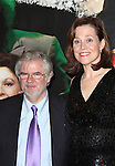 Christopher Durang & Sigourney Weaver attending the Opening Night After Party for the Lincoln Center Theater production of 'Vanya and Sonia and Masha and Spike' at the Mitzi E. Newhouse Theater in New York City on 11/12/2012