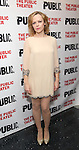 """Emily Bergl during the Off-Broadway Opening Night performance party for """"Plenty""""  at the Public Theatre on October 20, 2016 in New York City."""