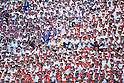 Mie fans,<br /> AUGUST 25, 2014 - Baseball :<br /> Mie fans cheer during the 96th National High School Baseball Championship Tournament final game between Mie 3-4 Osaka Toin at Koshien Stadium in Hyogo, Japan. (Photo by Katsuro Okazawa/AFLO)